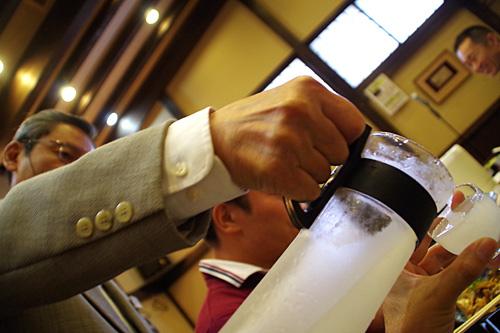 大吟醸をマイナス16度で凍らせた凍結酒!飲みやすくて危険!