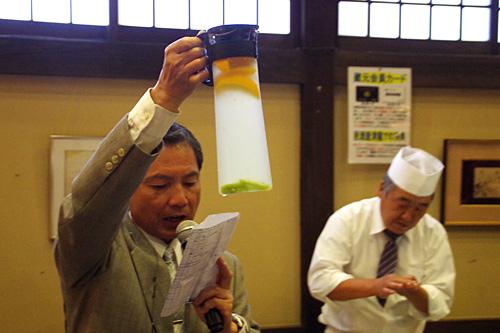 さらに日本酒のカクテルが次々と運ばれてくる!これがまた飲みやすい!