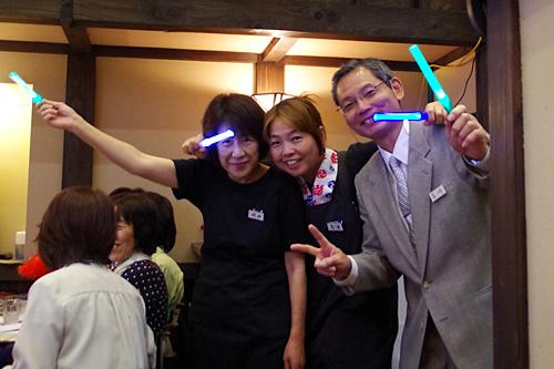 宴会中、社長もスタッフも楽しそうだったのが印象的でした。