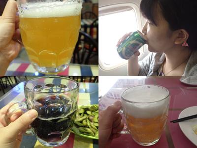 ちなみに、書ききれなかっただけで記事に出てきた量の3~4倍は飲んでるんだけど、原酒(工場以外でも、青島市内でいくらか飲める)にすっかりはまってしまった!