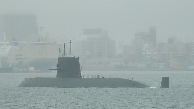 潜水艦がいた