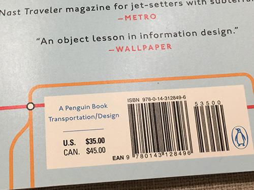 ちなみにさっき22.97ドルと表示された本は定価35ドルだった。