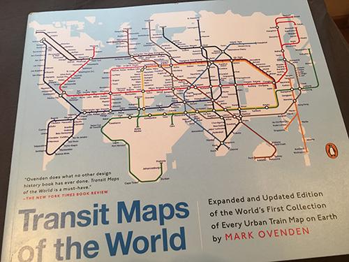 世界の路線図という本。もちろん買った