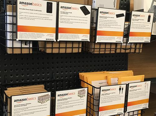 amazonブランドの電池やケーブルはあった