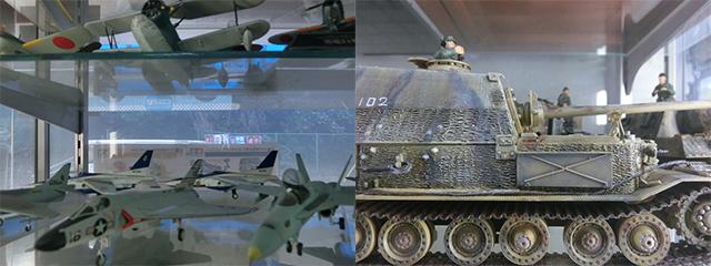 フワフワした物から、飛行機とか戦車とか…