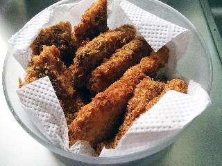 残った魚も全部揚げたので今後数日間は1日2食白身魚フライが続く