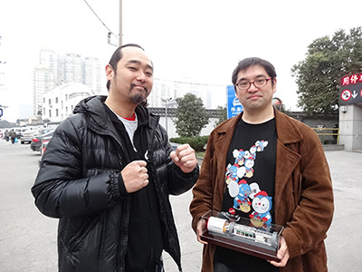 左がいんちき番長 http://portal.nifty.com/kiji/130212159509_1.htm このときの中国滞在についてはこちら