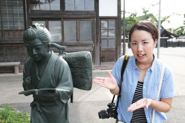 二宮金次郎といったら、この石像ですよね?