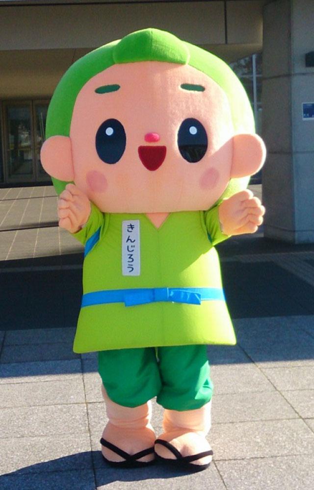 ちなみに、掛川市のゆるキャラも金次郎さんをモチーフに作られている。その名も「茶のみやきんじろう」