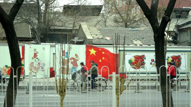 北京。撮った写真の中でもかなり北京らしい北京だ