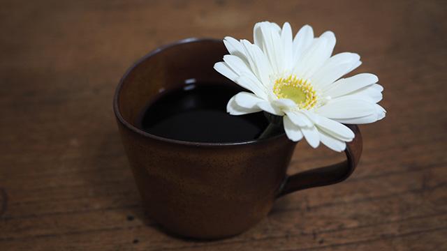 なんだかフォトジェニックになったコーヒー。