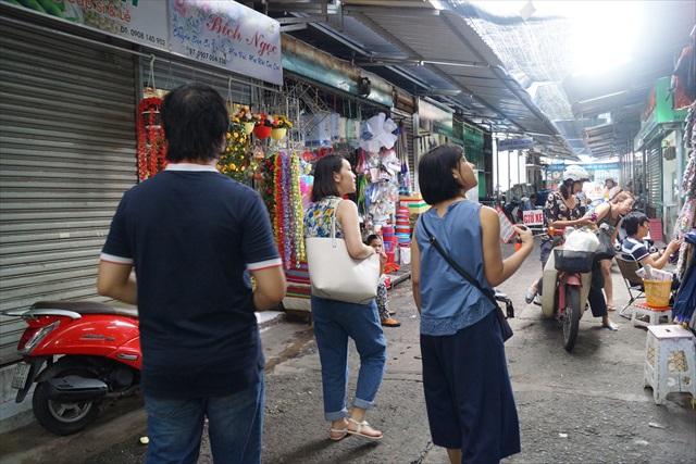 手始めに、最寄りの市場で数字を探す。