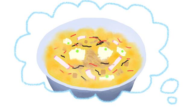 シウマイ弁当丼・・・(寿あま画)