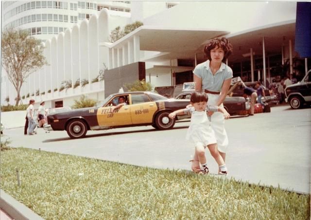 イエローキャブと母と兄(兄は日本生まれ)