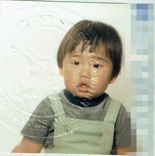 若かりしパスポート写真