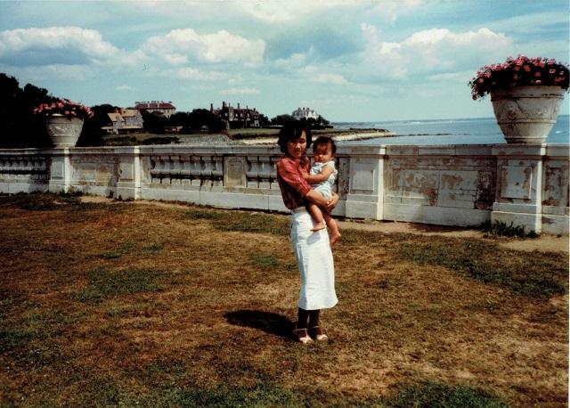 1981年8月、ニューポートにて