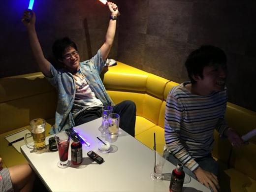 酔いがまわっていい感じになってきた。