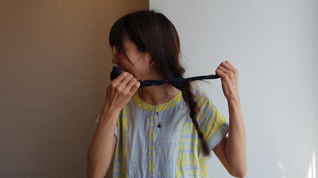 私なんて髪に巻いちゃうんだから、と鈴木さん