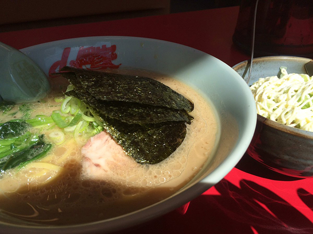 このスープ見ると、もう条件反射的にごはんが食べたい。