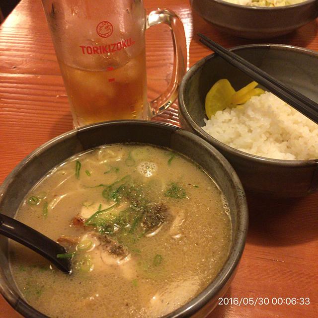 なんか異常に美味い鳥貴族のラーメン。居酒屋なのにラーメンだけ食べに行きたい級。