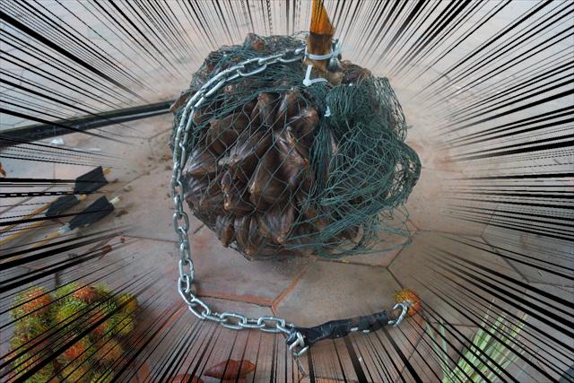 ニッパヤシの魔鉄球:2000G