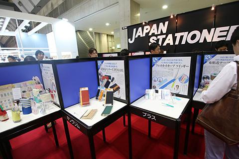 ここ見るだけで日本のいまの文房具シーンがなんとなく分かる、ぐらいのボリュームある展示。