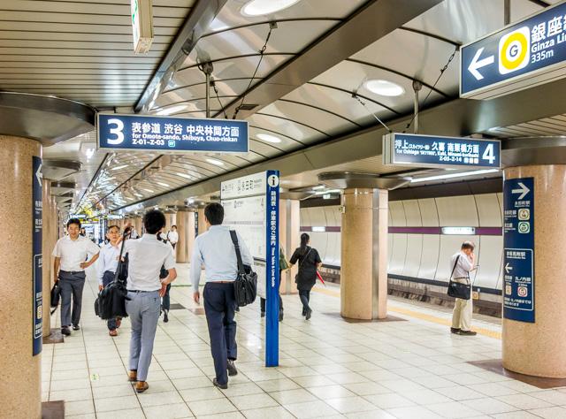 日比谷線といい、銀座線といい、そしてこの半蔵門線といい。どうも香りが弱い。大阪はもっといろいろ匂いしたんだけどなー。東京つまらんなー。