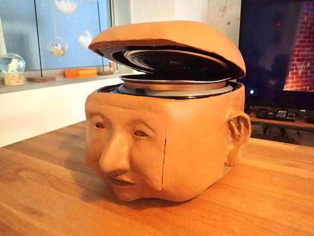 顔型炊飯器の誕生。