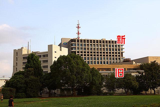 いつの間にやら巨大になっていた浦安市役所。