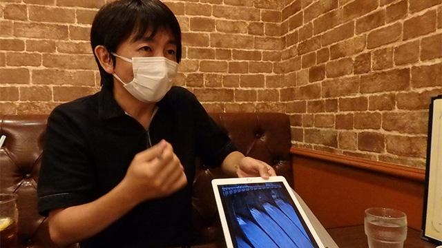 この日、萩原さんは風邪気味。その理由もダム!
