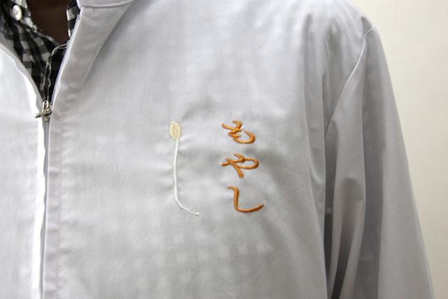 社内にも数着しかないという、もやし白衣。
