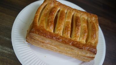 例えば、コンビニで買ったアップルパイである。
