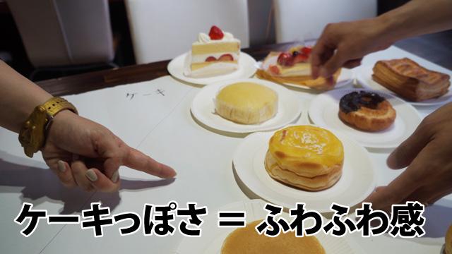 ショートケーキの直下まで蒸しパンが出世する場面も。