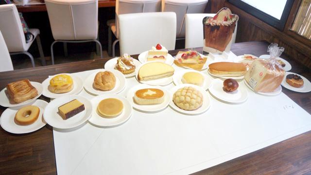 全部ケーキ。