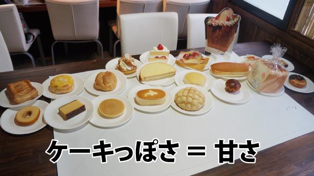 食パンまでもケーキ。フランスパンは?と聞いたら「それはパン」とのことだったので、少しでも甘いものがケーキなのだと思う。