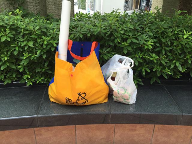 こんなことを言っているが、買い物の最中は運んでいるカロリーの大きさに戦慄していた。この袋の他に、要冷蔵なので喫茶店で預かってもらっていたケーキ類の袋もある。