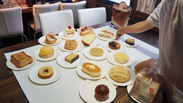 パンかケーキか、勇気を持って分類した。