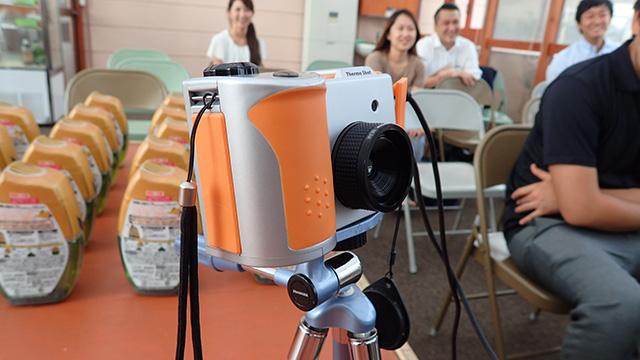 高額なサーモグラフィーカメラ(林さん私物)
