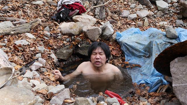 これはまた別の温泉でのスナップ