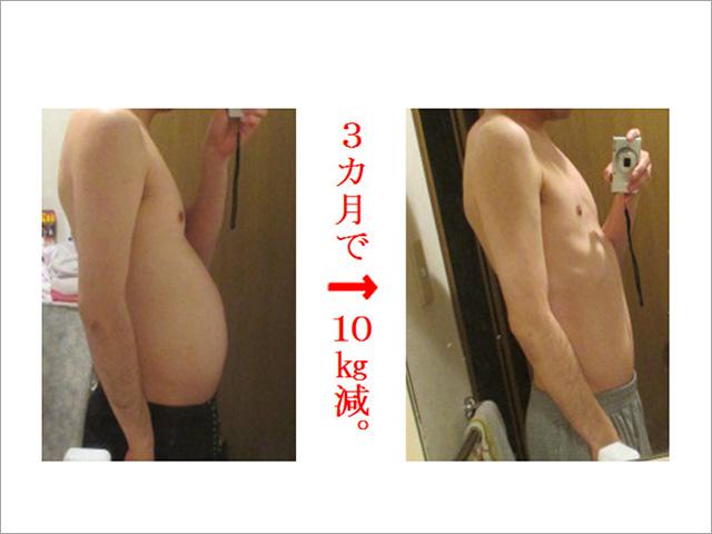 3ヶ月で10kgヤセた「病的ダイエット」