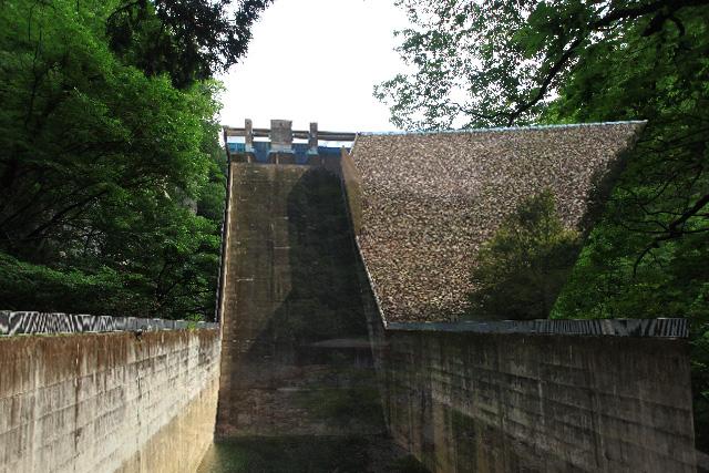 平川ダムの想像図
