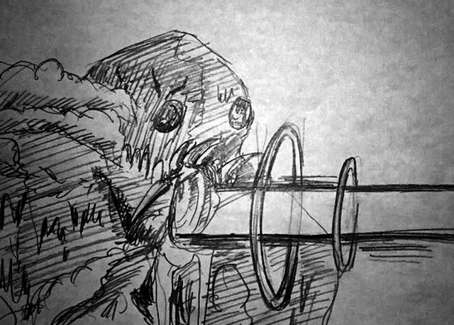 「風の谷のナウシカ」で巨神兵が口から放つあれです。