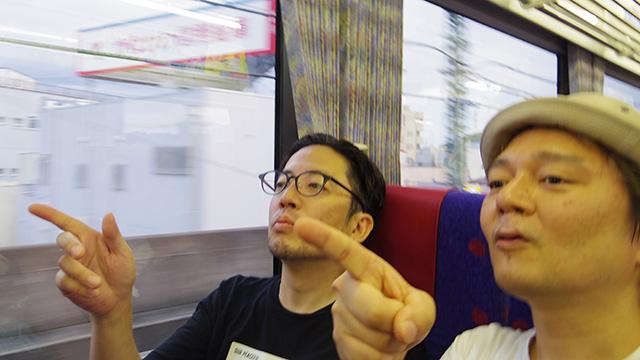 いつもの電車でビールを楽しんだ