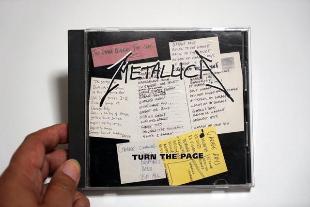 カヴァー曲を網羅したアルバム「Garage.inc」からのシングル・カット「TURN THE PAGE」。表題曲のオリジナルはボブ・シーガー(しぶい!)