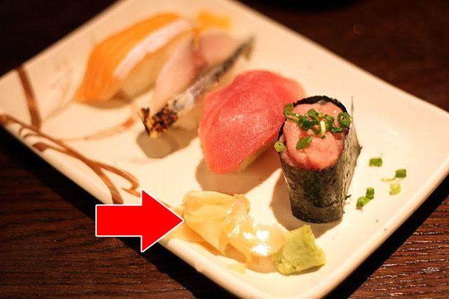 どっかで食べた寿司。