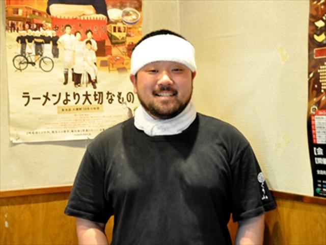 「くり山」店主の栗山さん