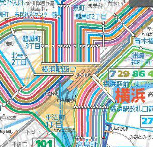 横浜市営バス・投稿:タダノシマズキのガジェさま