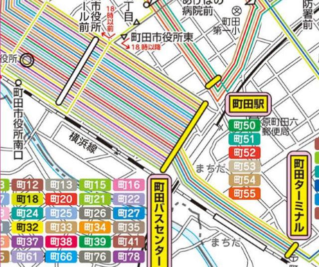 図 路線 神奈川 交通 中央