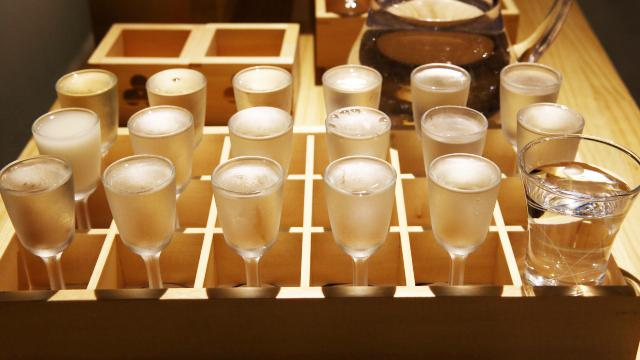 これが17種類の利き酒ができるセット「粋酔(KISSUI)」1700円