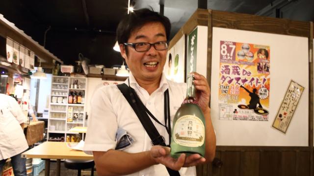月桂冠の村上さんがオススメするのは、「ヌーベル月桂冠 特別本醸造」。